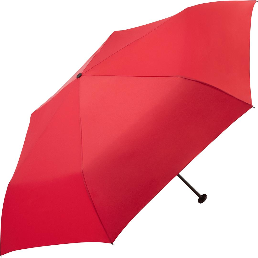 rød ultra let paraply