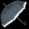 retro blå paraply